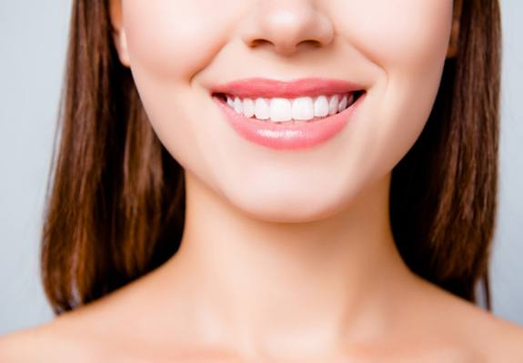 A fully restored, healthy smile